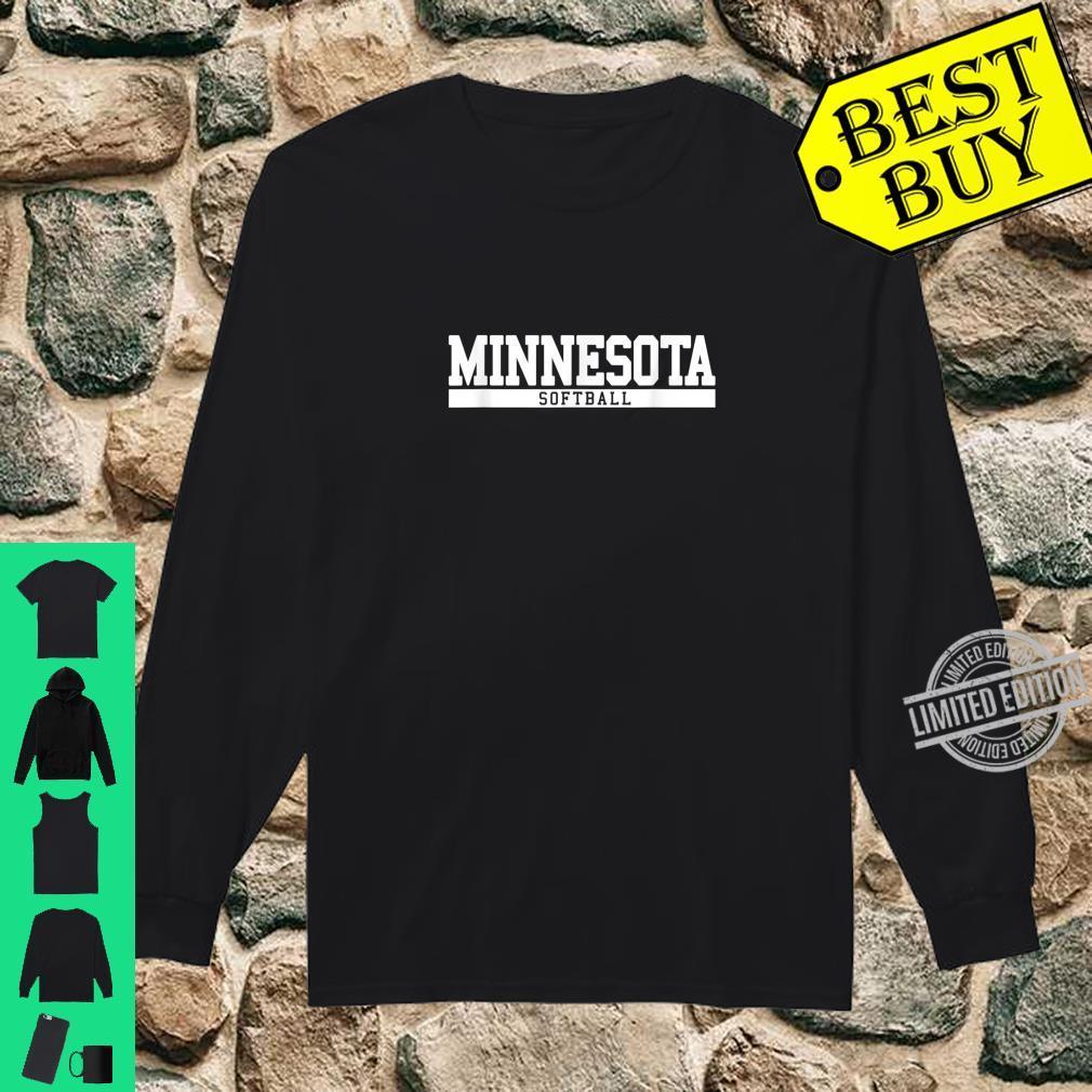 Minnesota Softball Shirt long sleeved