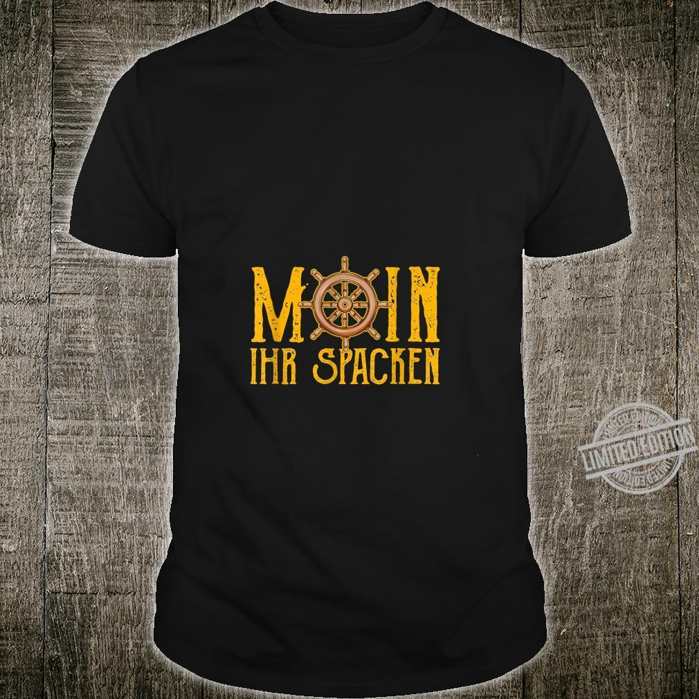 Moin Moin Gruß Spruch Küste Heimat Norden Geschenke Shirt