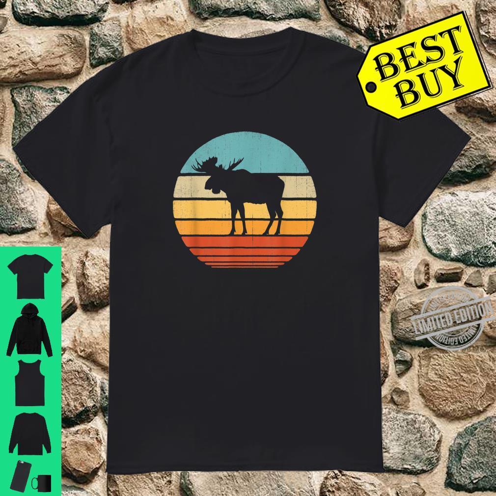 Moose Vintage 60s 70s Retro Animal Elk Shirt