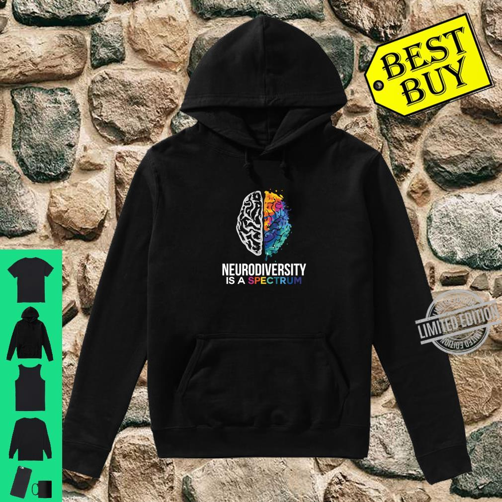 Neurodiversity Is A Spectrum For Autism and Special Ed Shirt hoodie