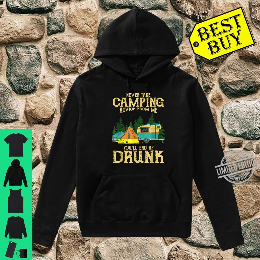 Never take camping advices froms mes endss Vintage Shirt hoodie