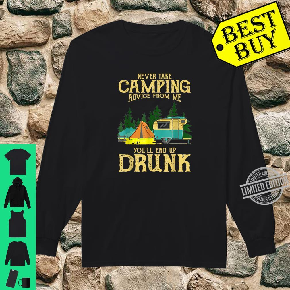 Never take camping advices froms mes endss Vintage Shirt long sleeved