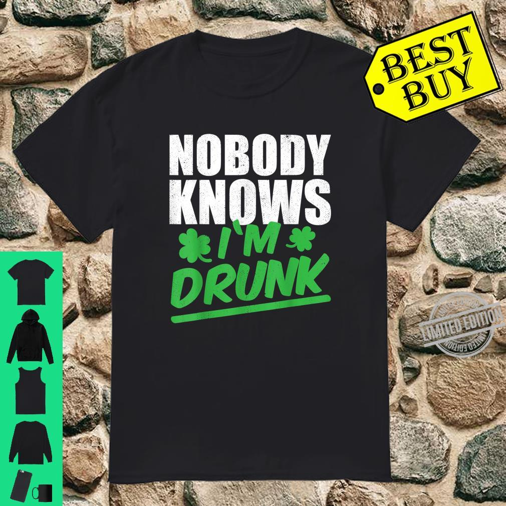 Nobody Knows I'm Drunk St Patricks Day 2020 Shirt