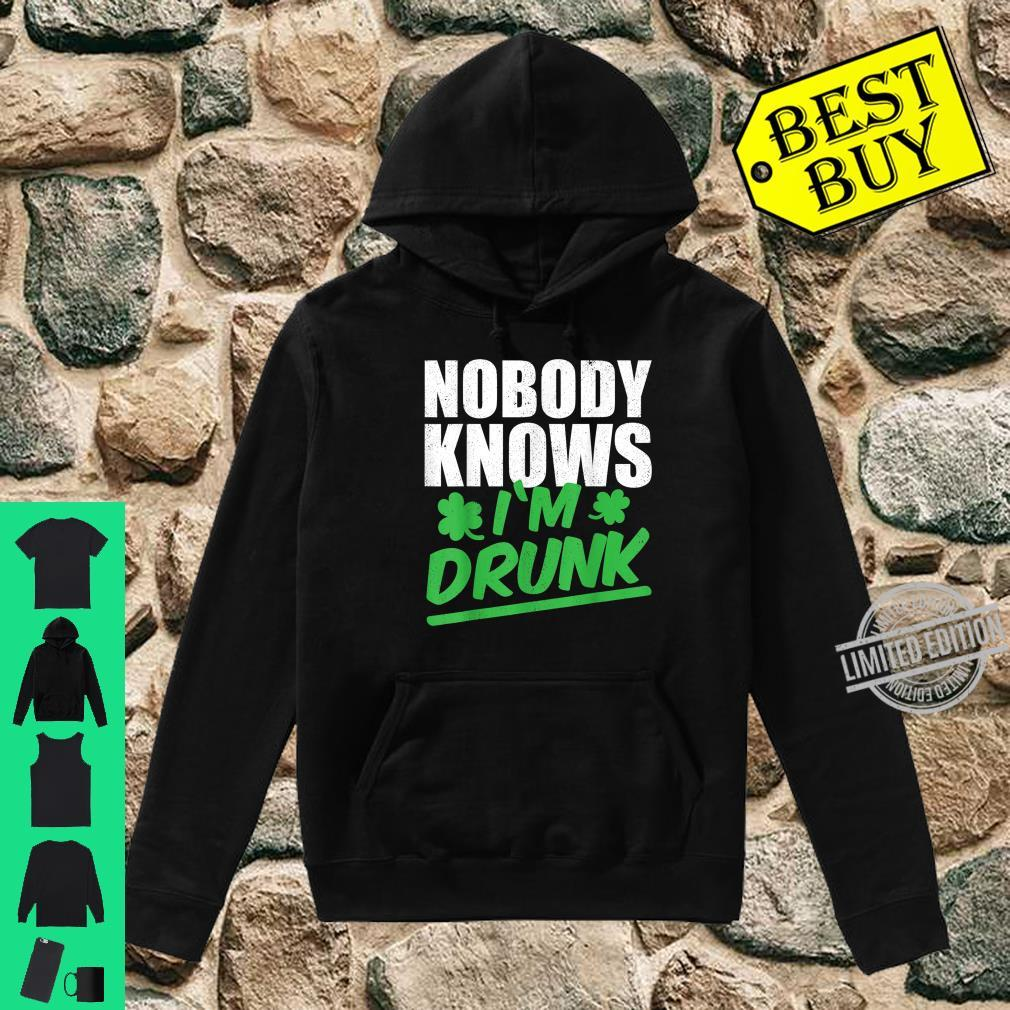 Nobody Knows I'm Drunk St Patricks Day 2020 Shirt hoodie
