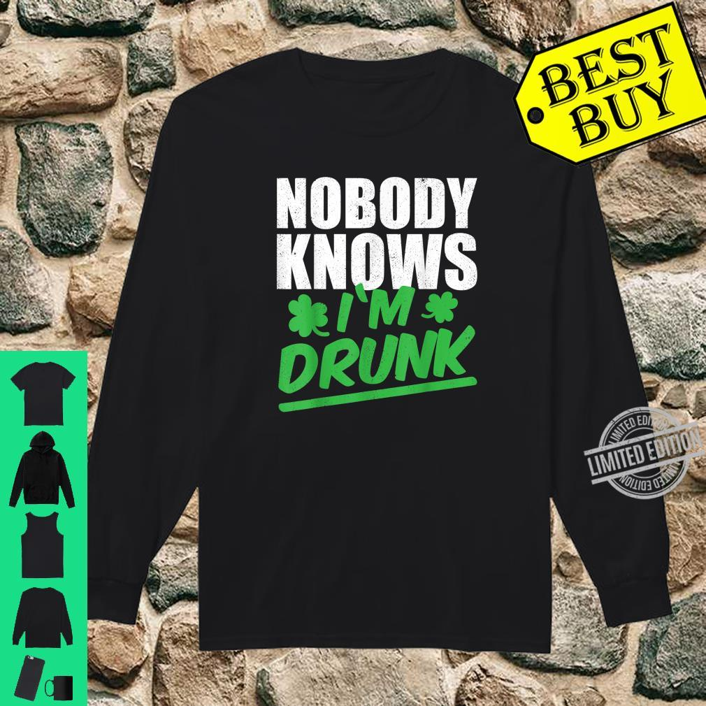 Nobody Knows I'm Drunk St Patricks Day 2020 Shirt long sleeved