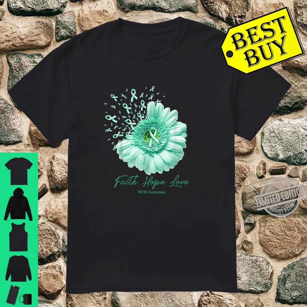 PCOS AWARENESS daisy ribbon Shirt