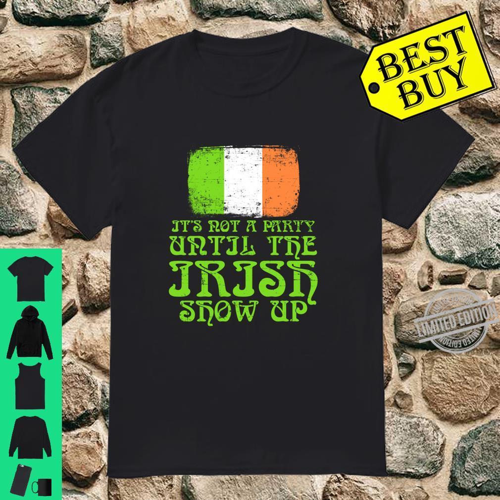 Party Irish Happy St. Patrick's Day Design Shirt