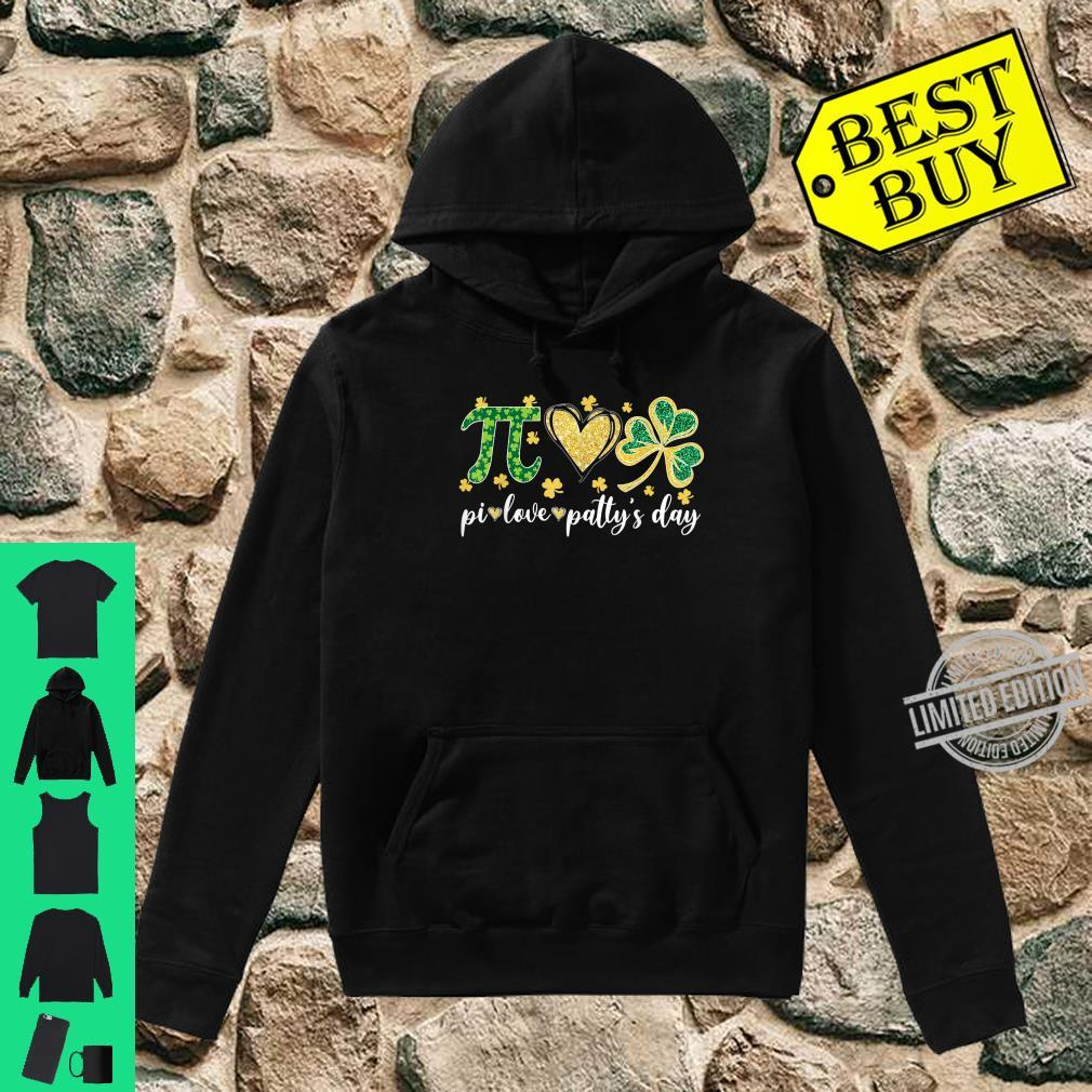 Pi Love Shamrock Patty's Day Math Teacher Patrick's day Shirt hoodie