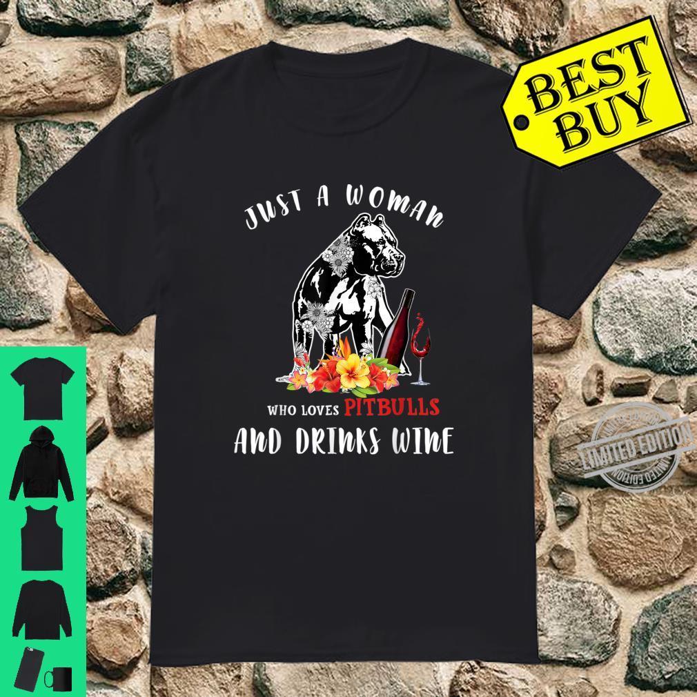 Pitbulls Wine Shirt