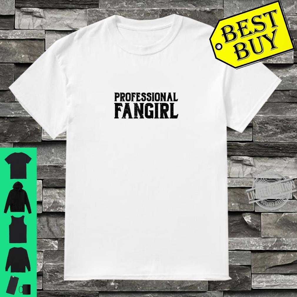 Professional Fangirl Dark Shirt