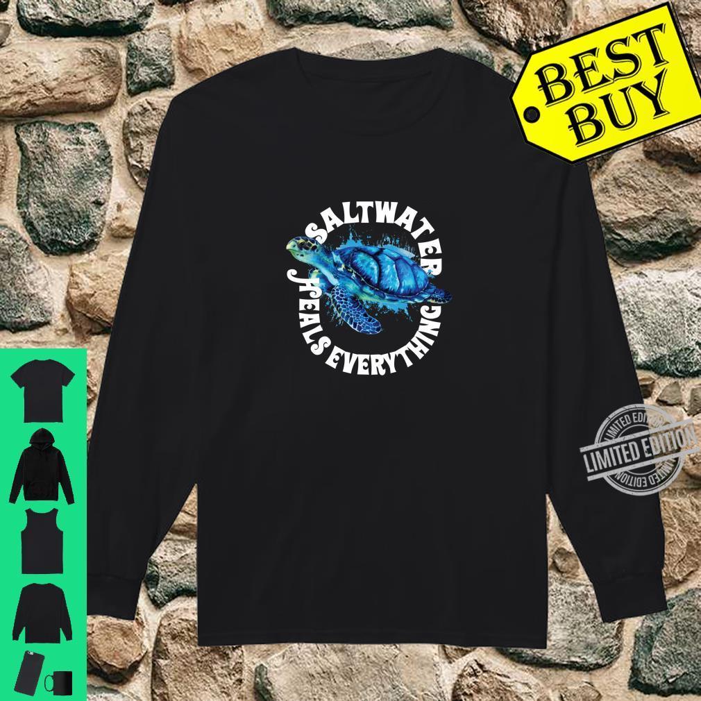 Saltees Saltwater Heals Everything Langarmshirt Shirt long sleeved