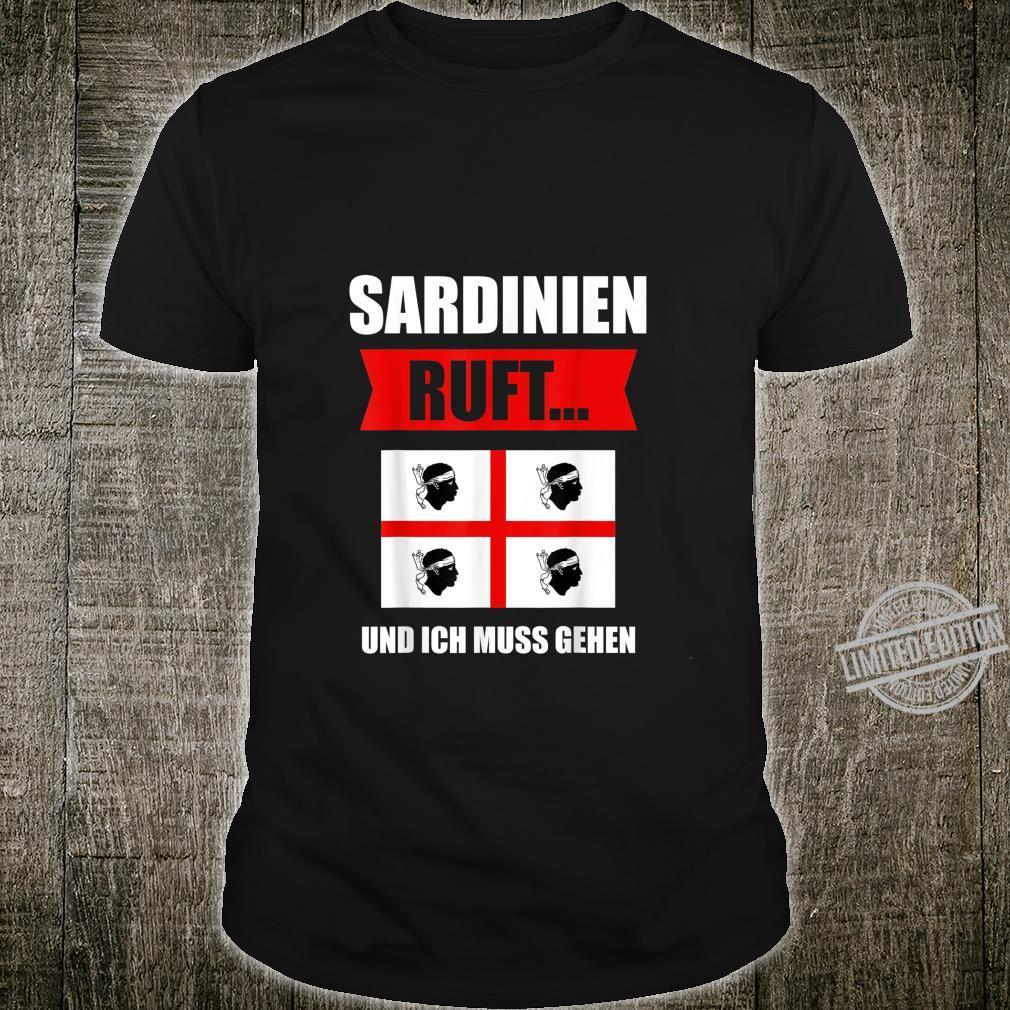 Sardinien Korsika Sardegna Italien Geschenk Shirt