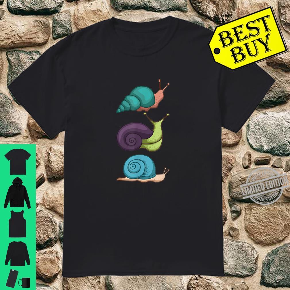 Snail Snails with Snailhouses Shirt