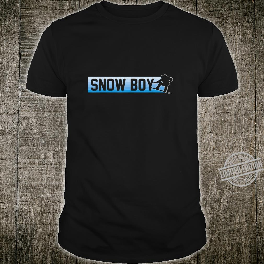 Snow Boy Snowboard Boarding Winter Sport Geschenk Shirt