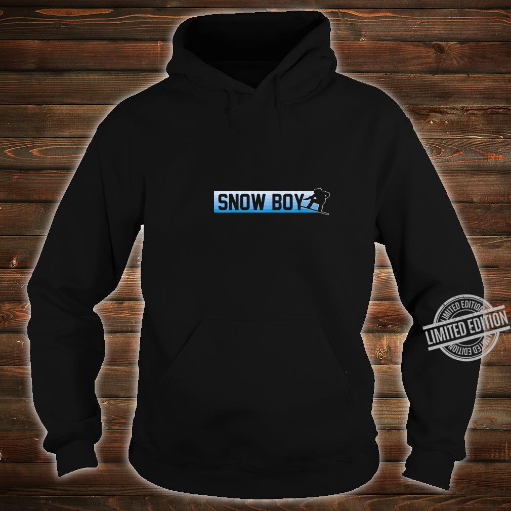 Snow Boy Snowboard Boarding Winter Sport Geschenk Shirt hoodie