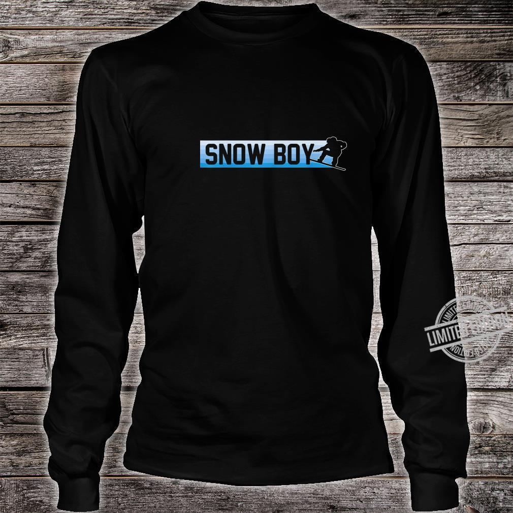 Snow Boy Snowboard Boarding Winter Sport Geschenk Shirt long sleeved