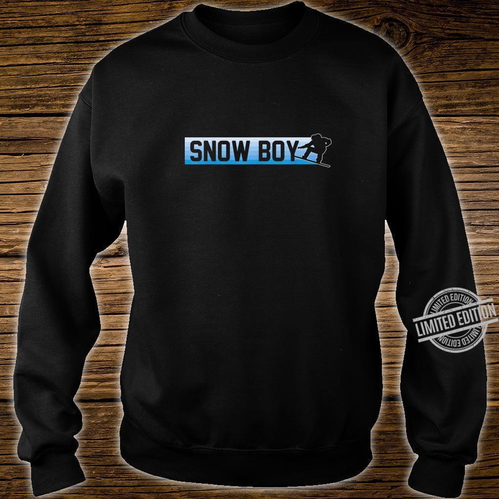 Snow Boy Snowboard Boarding Winter Sport Geschenk Shirt sweater