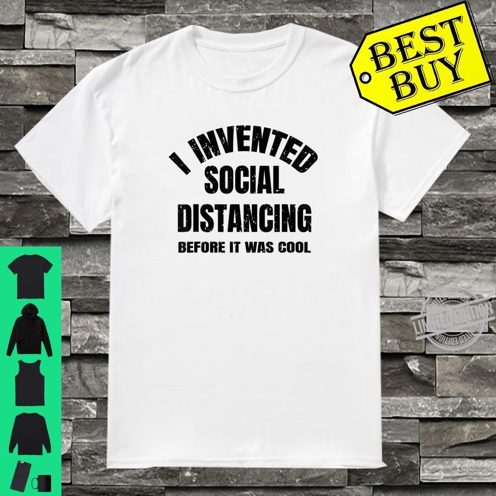 Social Distancing Antisocial Distance Introvert Shirt