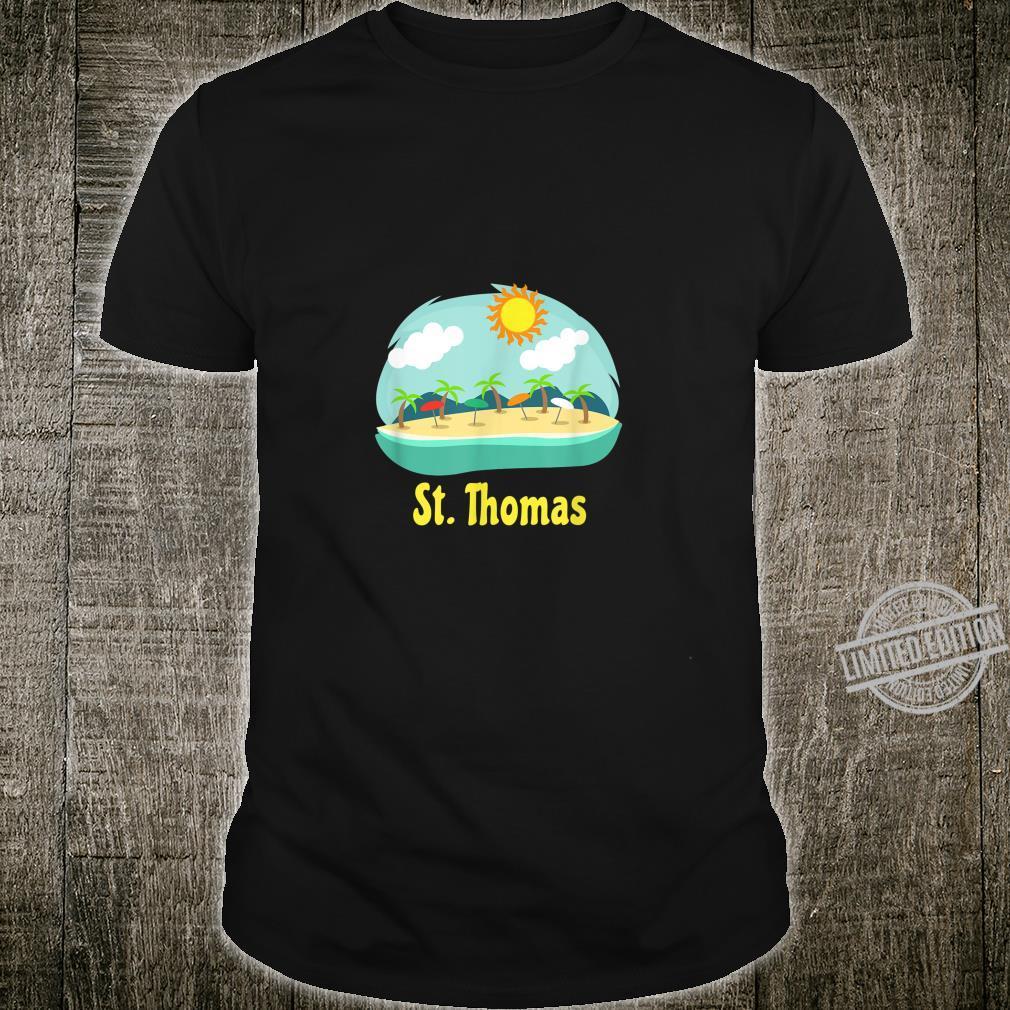 St. Thomas Family Vacation Caribbean Beach Souvenir Shirt