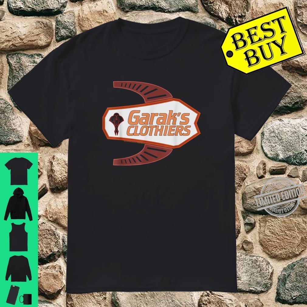 Star Trek DS9 Garak's Clothiers Logo Shirt