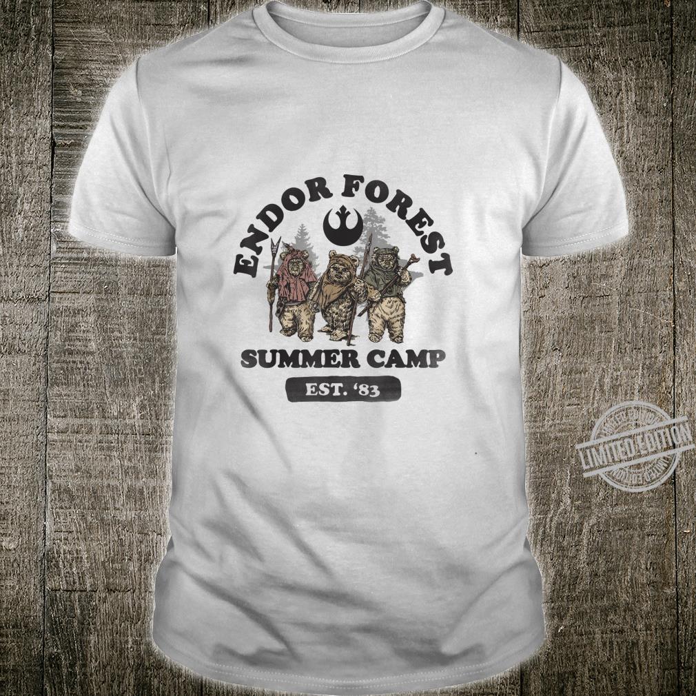 Star Wars Ewok In Forest Summer Camp Shirt