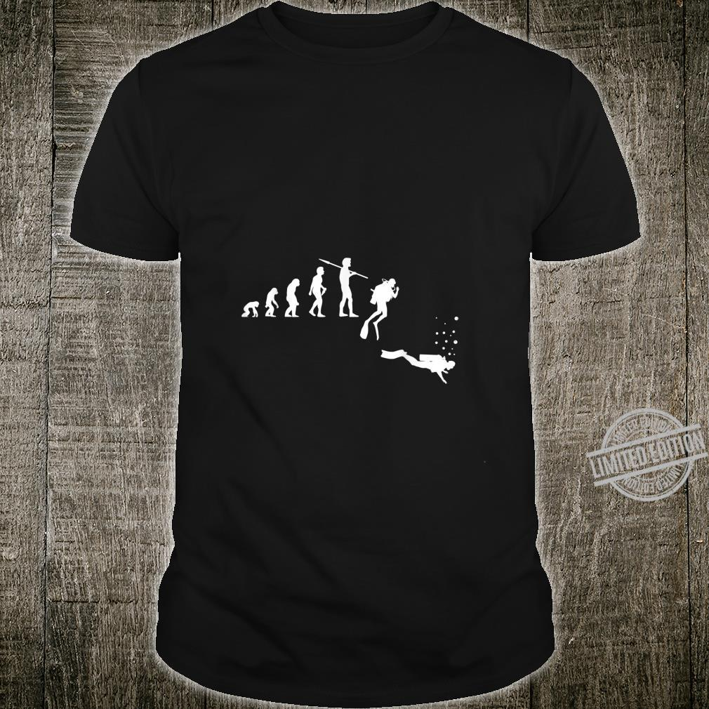 TShirt with Diving Evolution Diving Underwater Design Shirt