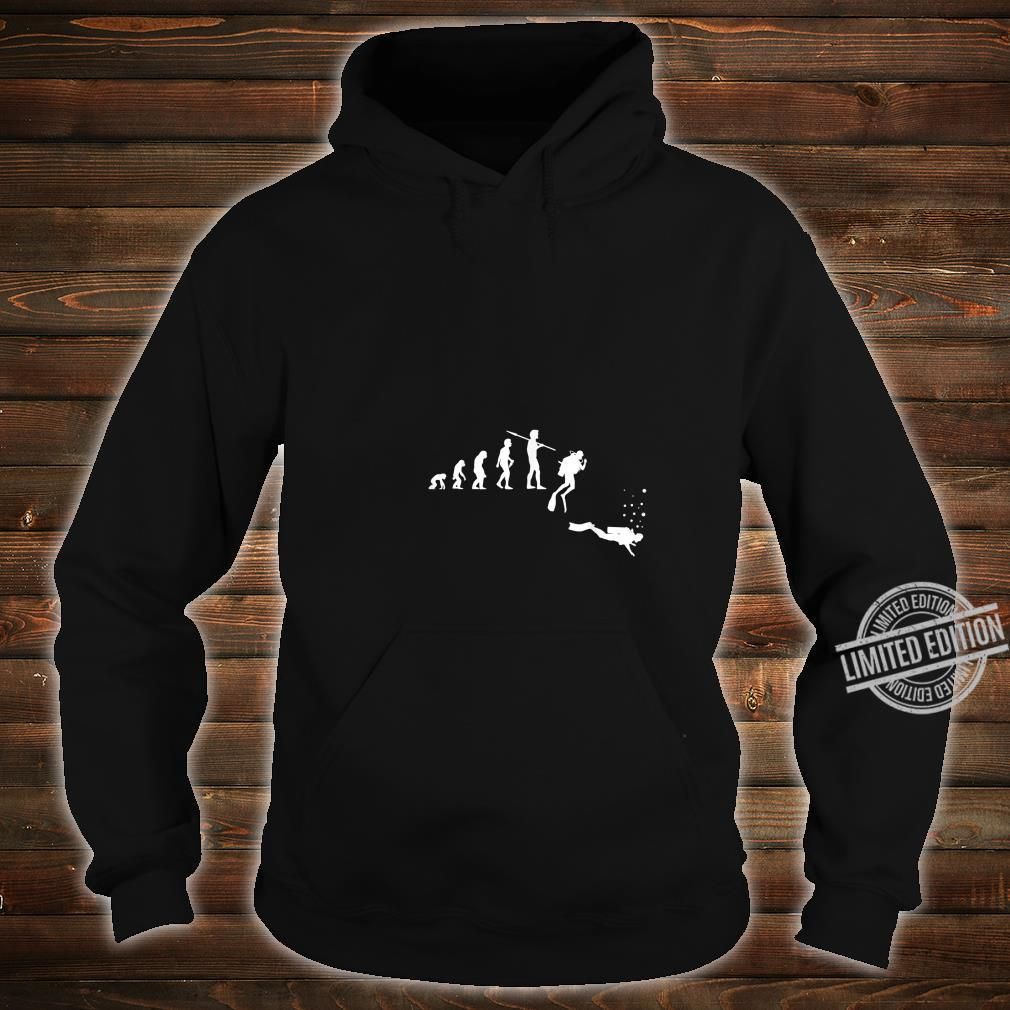 TShirt with Diving Evolution Diving Underwater Design Shirt hoodie