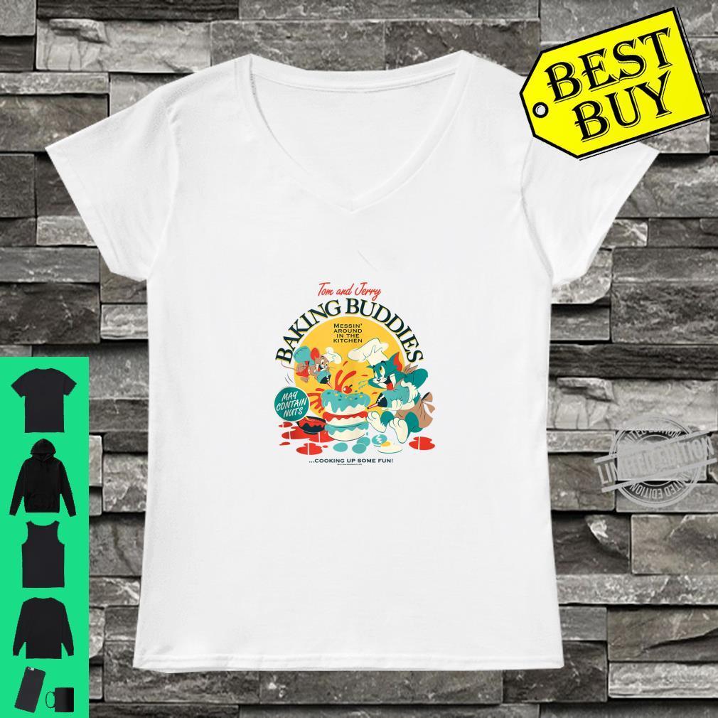 Tom and Jerry Baking Buddies Shirt ladies tee
