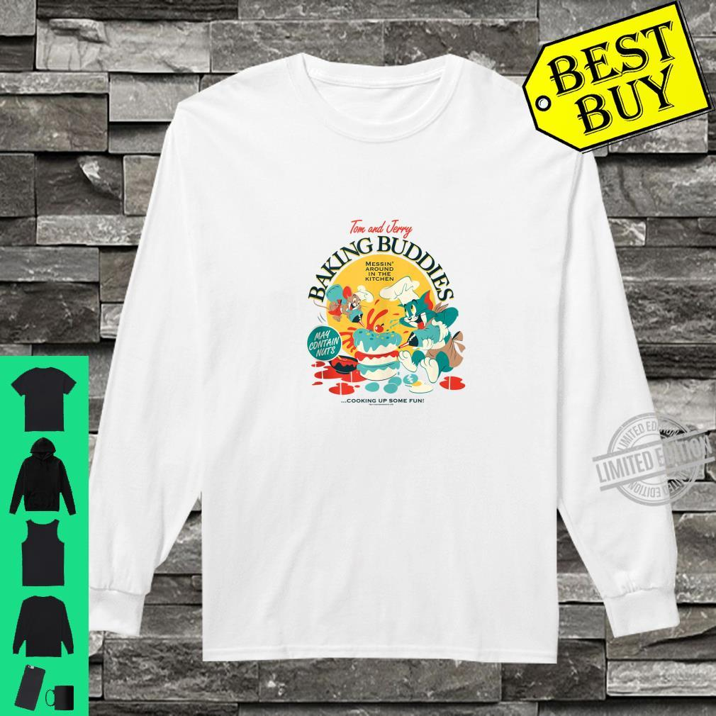 Tom and Jerry Baking Buddies Shirt long sleeved