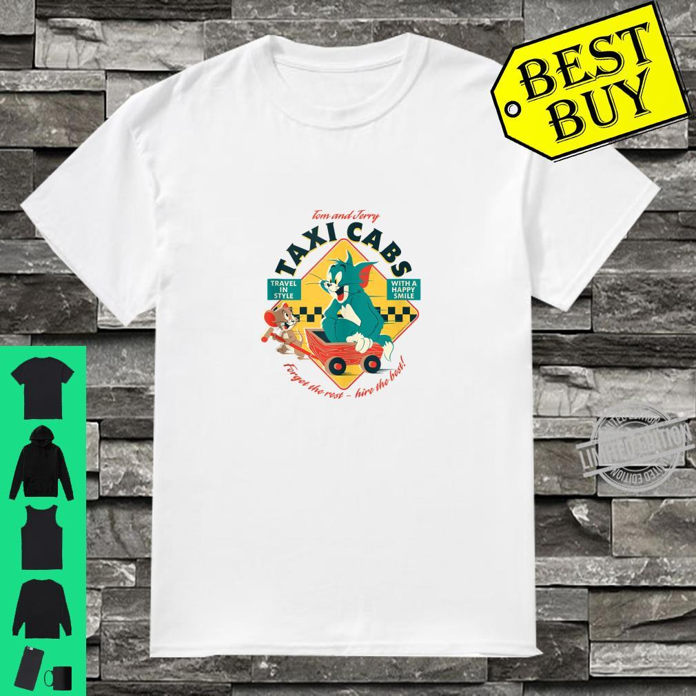 Tom and Jerry Taxi Cabs Shirt