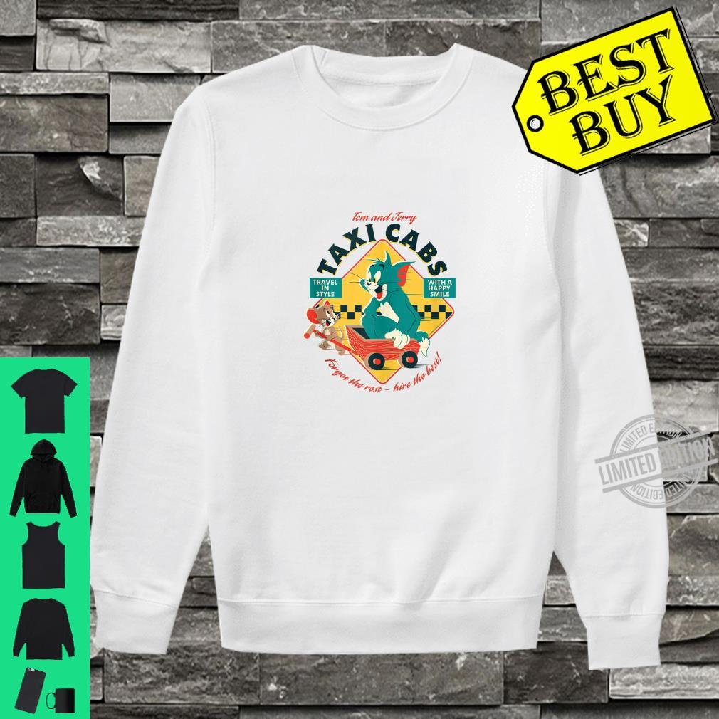 Tom and Jerry Taxi Cabs Shirt sweater