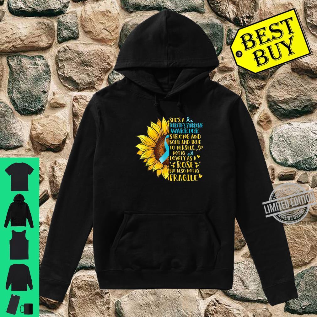 Tourette's Syndrome Warrior Sunflower Shirt hoodie