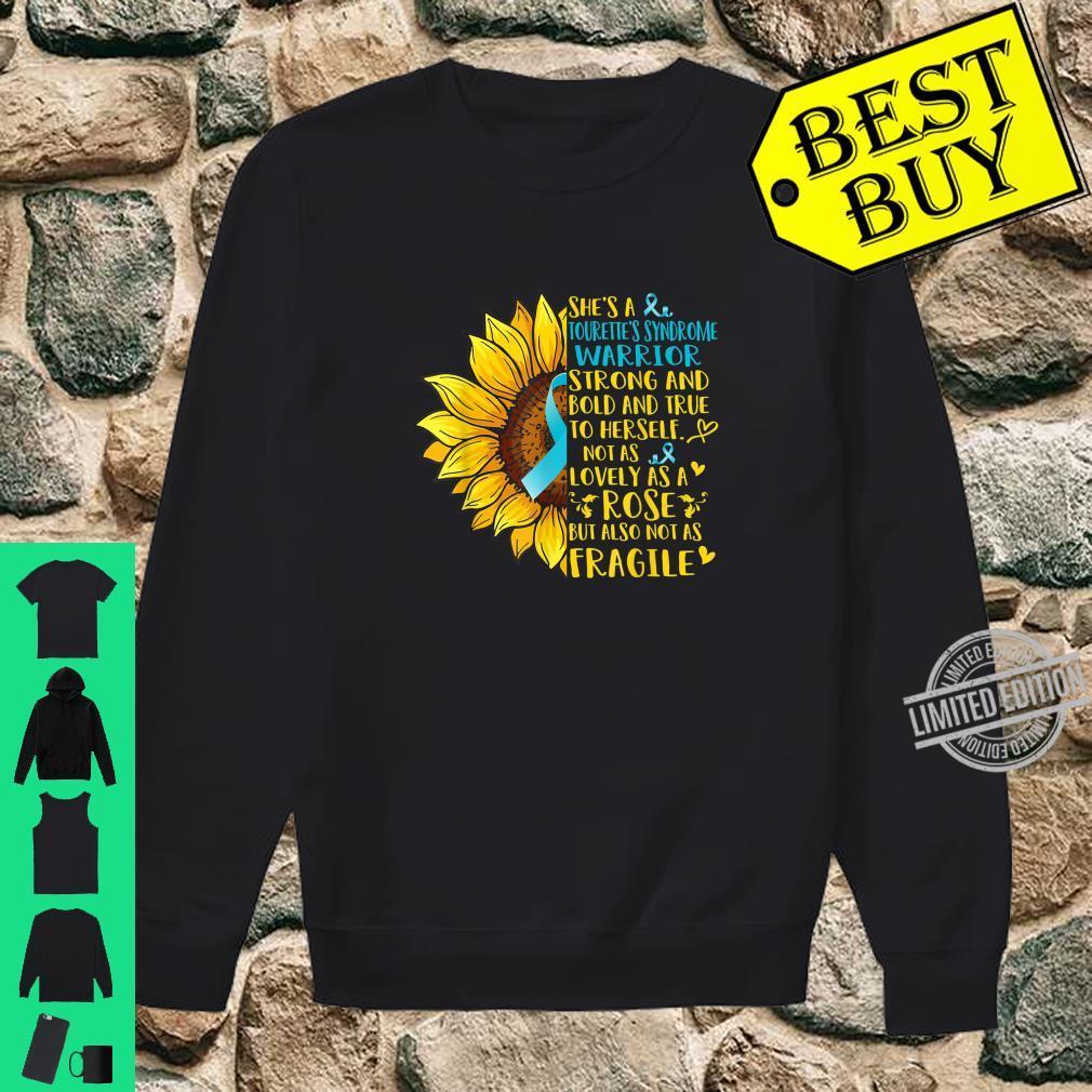 Tourette's Syndrome Warrior Sunflower Shirt sweater