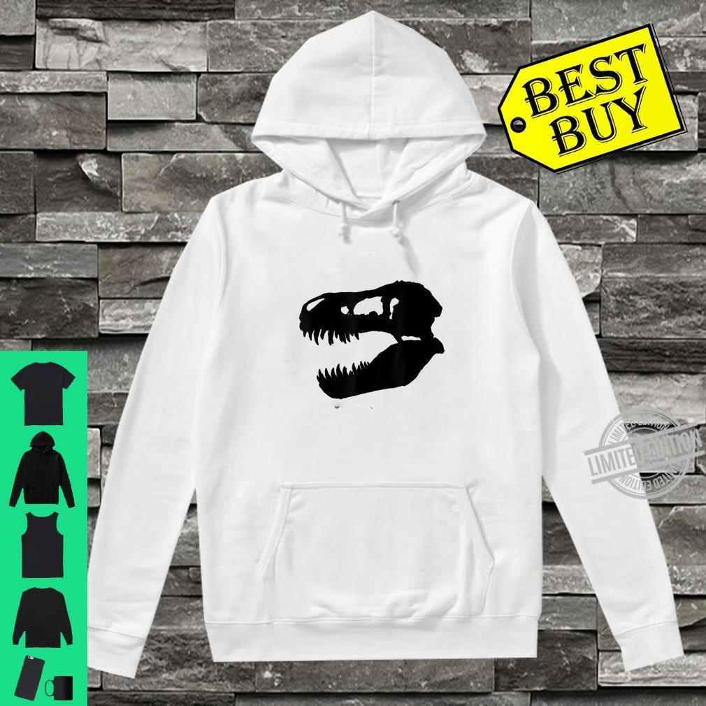 Trex dinosaur skull Shirt hoodie