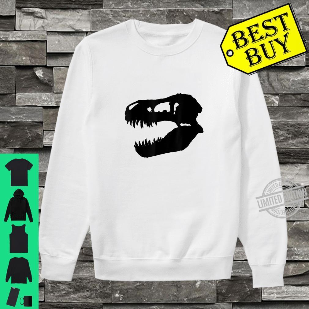 Trex dinosaur skull Shirt sweater