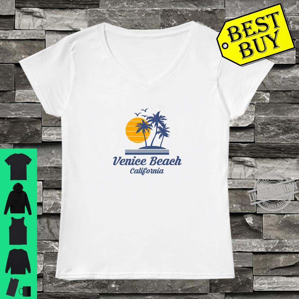 Venice Beach California CA City Tourist Souvenir State Shirt ladies tee