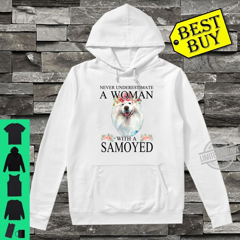 Womens Samoyed Dog Mom Mama Mother Grandma Theme Shirt hoodie