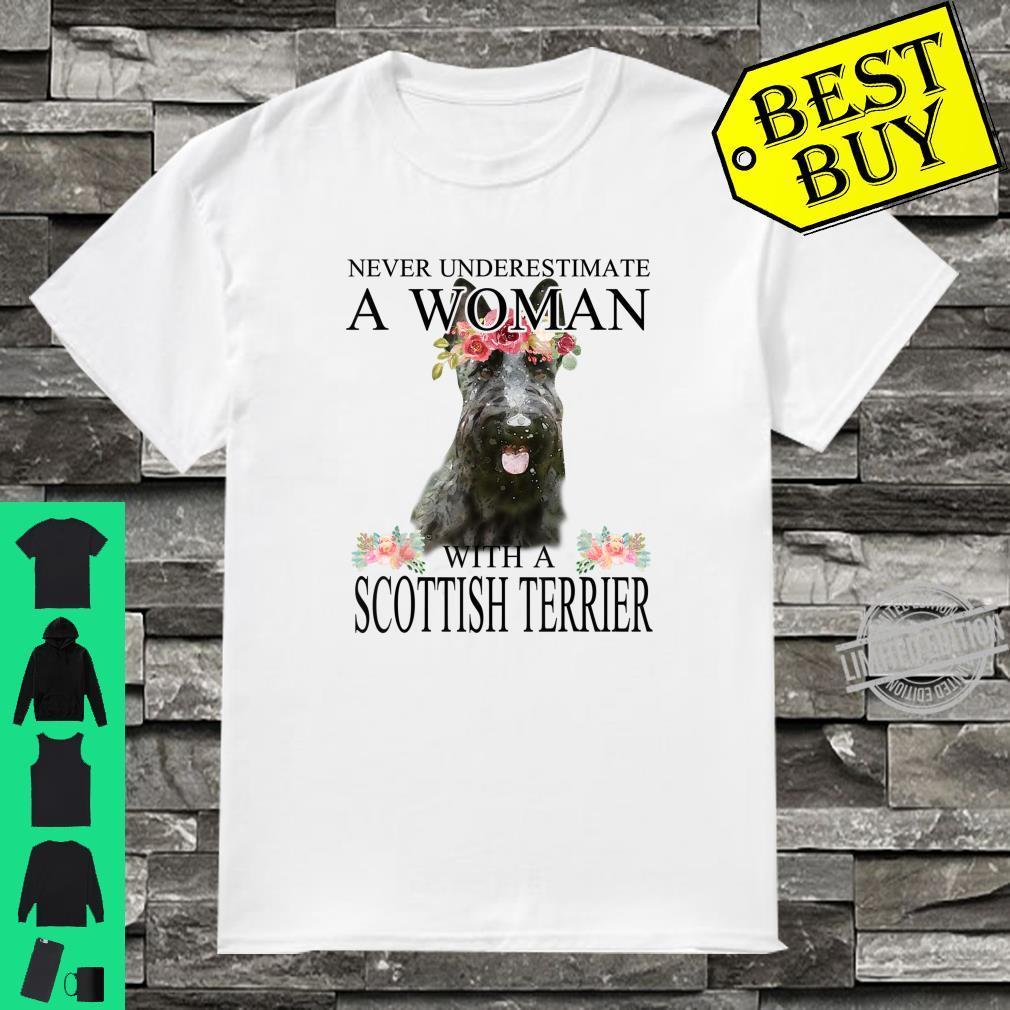 Womens ScottishTerrier Scottie Mom Mama Mother Shirt