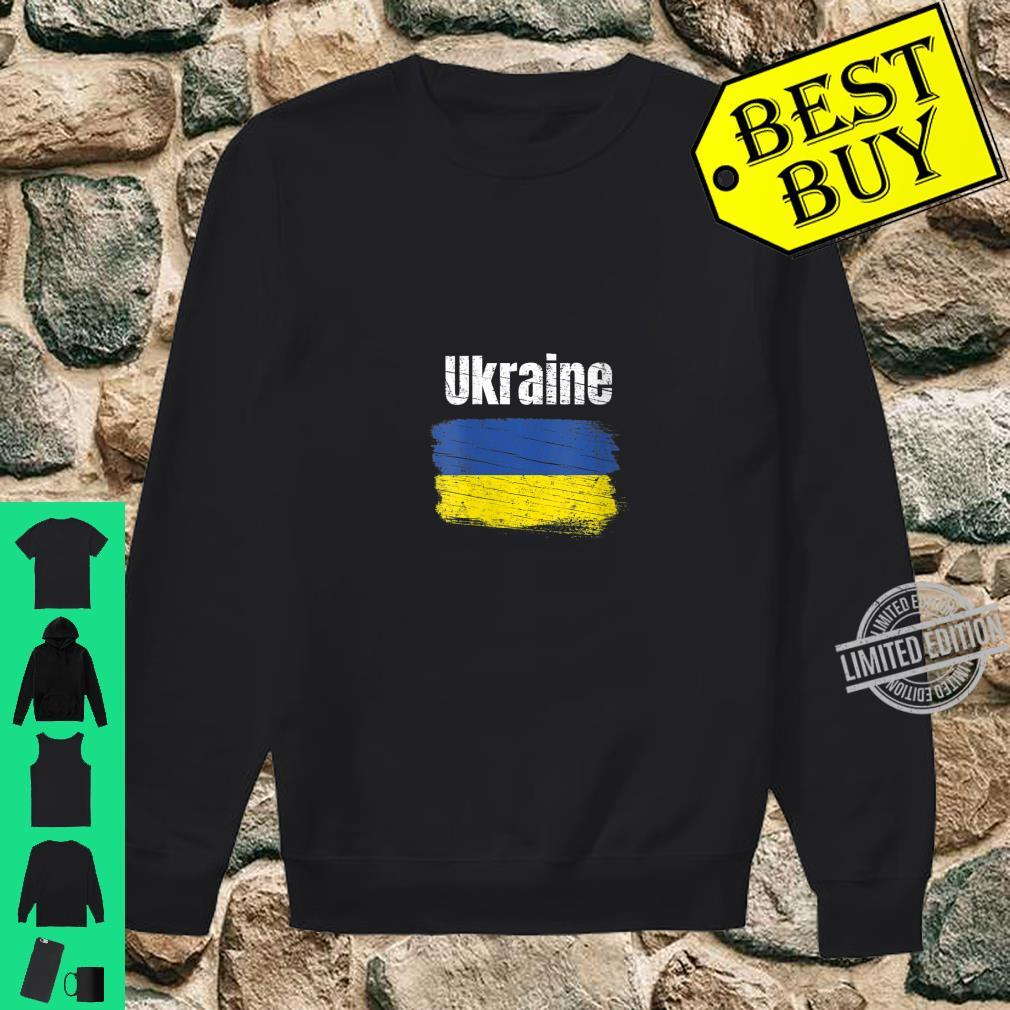 Womens Ukraine Ukrainian Flag Vintage Ukraines Shirt sweater