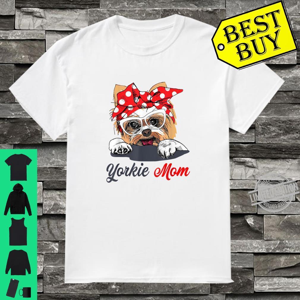Yorkie Mom Dogs Shirt
