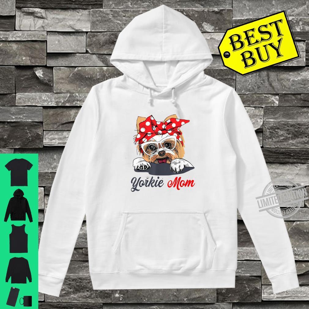Yorkie Mom Dogs Shirt hoodie